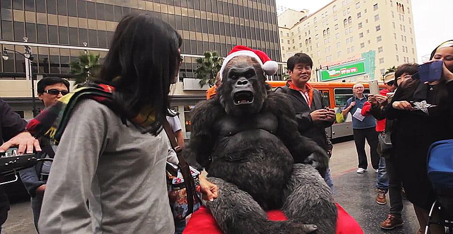 High-tech gorillapak is niet van echt te onderscheiden