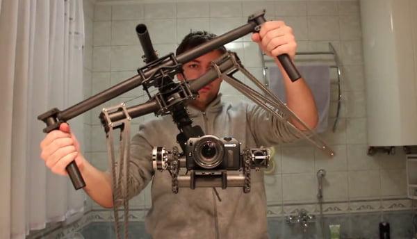 Met deze camera stabilisator heb je nooit meer bewogen beelden