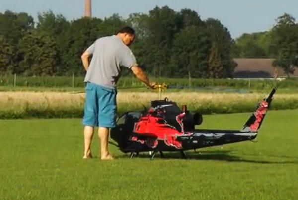 Grootste RC helicopter