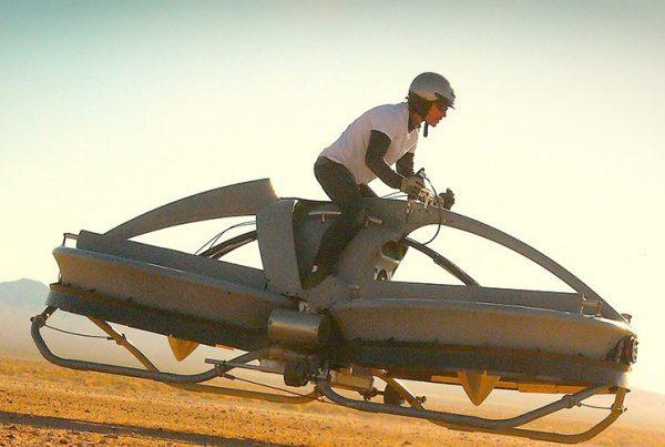 Aero-X Hooverbike vliegende auto fiets